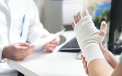 Déroulement de la rééducation post-fracture du poignet